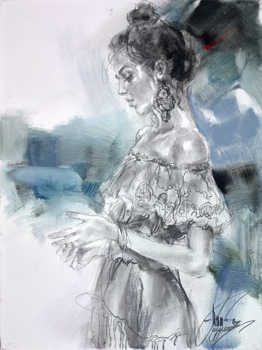 Confession by anna razumovskaya -  sized 18x24 inches. Available from Whitewall Galleries